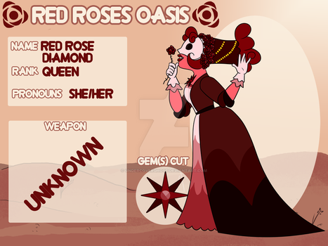 RRO | Red Rose Diamond by undercoverghost