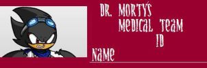 Dr. Morty's Medical Team ID by Mikeyfan93