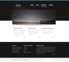 lolcss website design by jackinnes