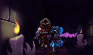 Spiral Knights - Haunted attraction by Klears