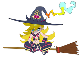 PSG/The Witch and the Hundred Knight Crossover by DJNightmar3