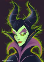 MALEFICENT by cartoonmaniac09