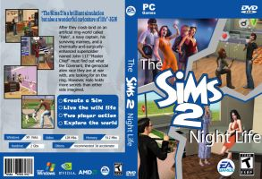 sims dvd cover by darrelltate