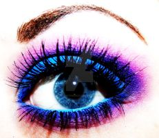 Colorful Eye Makeup by XxXCheyenneXxX
