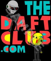 Daft Club T-shirt by tomatorama