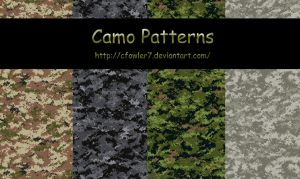 PS Patterns - Camo by cfowler7