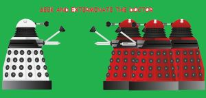 daleks giving orders by hitch-232