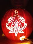 Assassin's Creed Pumpkin Pt. 2 by dragoness292