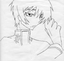 Lelouch Lineart 2 by mdnght1
