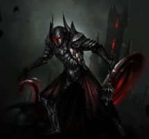 Blood knight by The-Gij