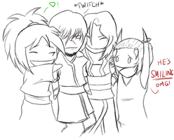 Chibi Therapy Group Hug 8D by Cabriola