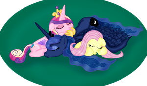 Cuddle Pile by Inurantchan