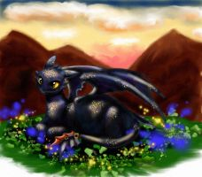 Toothless by amy2sa-fan
