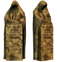 Grave 4 PNG Stock by Roy3D
