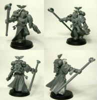 WIP - Chief Librarian Taron by Grombald