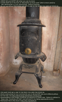 Victorian Wood Stove Stock 1 by DeviousRose