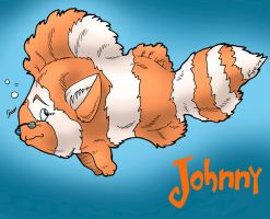 Johnny Clownfish by KaeMantis