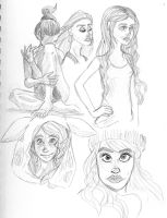 Allison Harvard doodle dump by Toddette