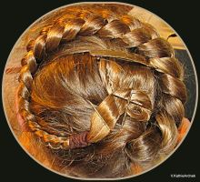 An Updo by CowgirlVK