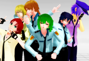 Rainbow Security Guards Bio by NightWitch14