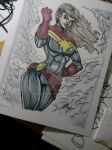The New Captain Marvel by IanDWalker