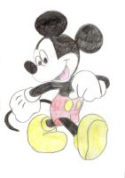 Mickey Mouse by chinchilla36