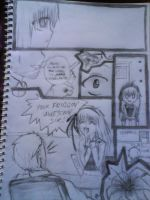my first manga book by ChAr10tT3