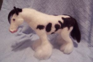 Needlefelt Gypsy Vanner Mare by shadechristiwolven
