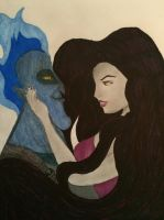 ~*Dark Love*~ Eris and Hades by XSlytherinxPrincessX