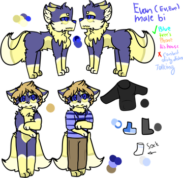 Evan ref by illusionflare0