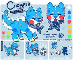 [Sushi Dog] Chompy by lithxe