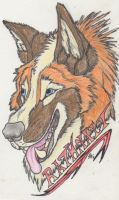 Rathnait Badge by Kigai-Holt