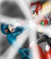 Megaman VS Zero by Locke3K