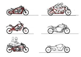 mOtor sketches by qwsTaion