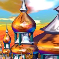 Colorful Mosques by DeirdreReynolds