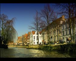 Brugge from Canal by melintir