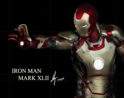 Iron Man Mark XLII by shinn89