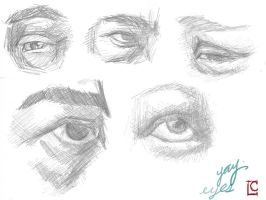 More Eyes by myriamelle