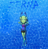 Only Swim Free by Zerna