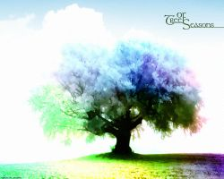 Tree of Seasons by Xa0tiK