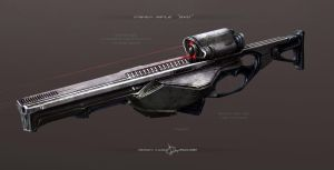 sniper rifle SVD by Sergey-Lesiuk