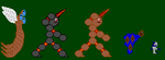 My Best Creature Sprites by JesseAnderson11