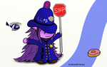 Police Officer Lulu by Pantoffli