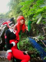 Harley and Ivy by Natasha--Wonka