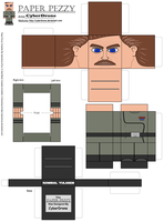 Paper Pezzy- Admiral Yularen by CyberDrone