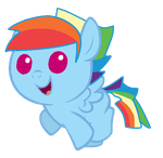 Rainbow Blitz (Foal) by ArronSkull66