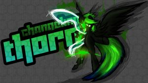 Changeling Thorn [Splash Art] by rorycon