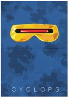 Cyclops One Sheet by mattcantdraw