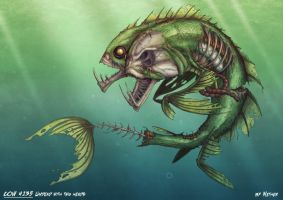 Undead Mutant Fish - Color by Nether83