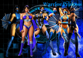 Kitana - Warrior Princess by IamSubZero